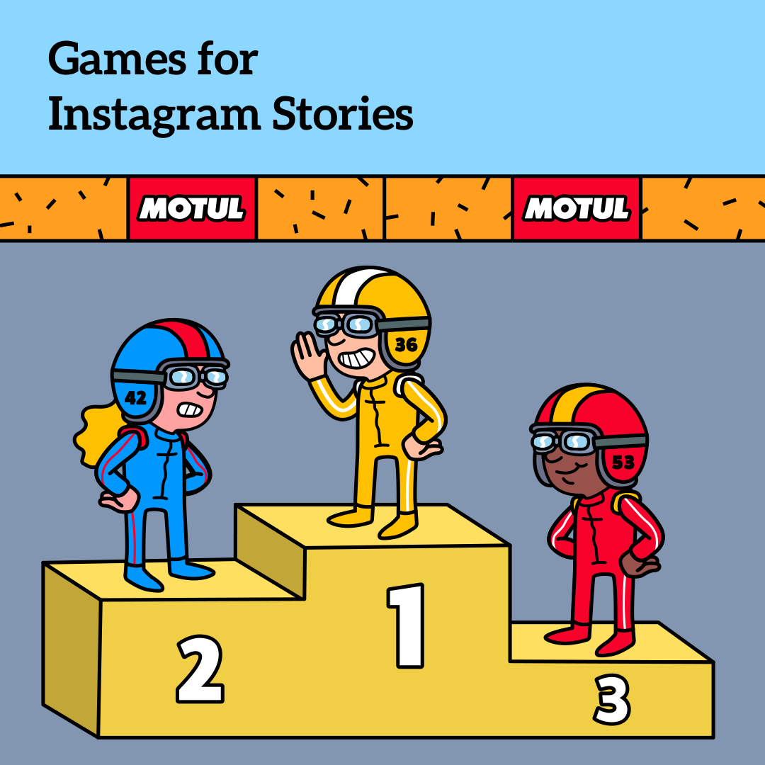 Games for Instagram Stories